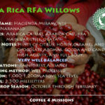 Costa Rica Willows – Rainforest Alliance Certified